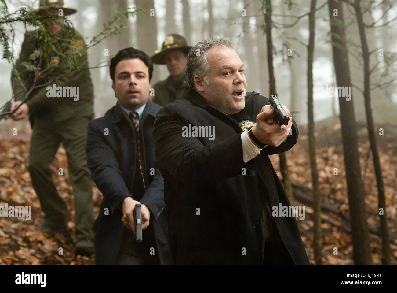 RUN ALL NIGHT  2015 Warner Bros film with Vincent D'Onofrio at right - Stock Image