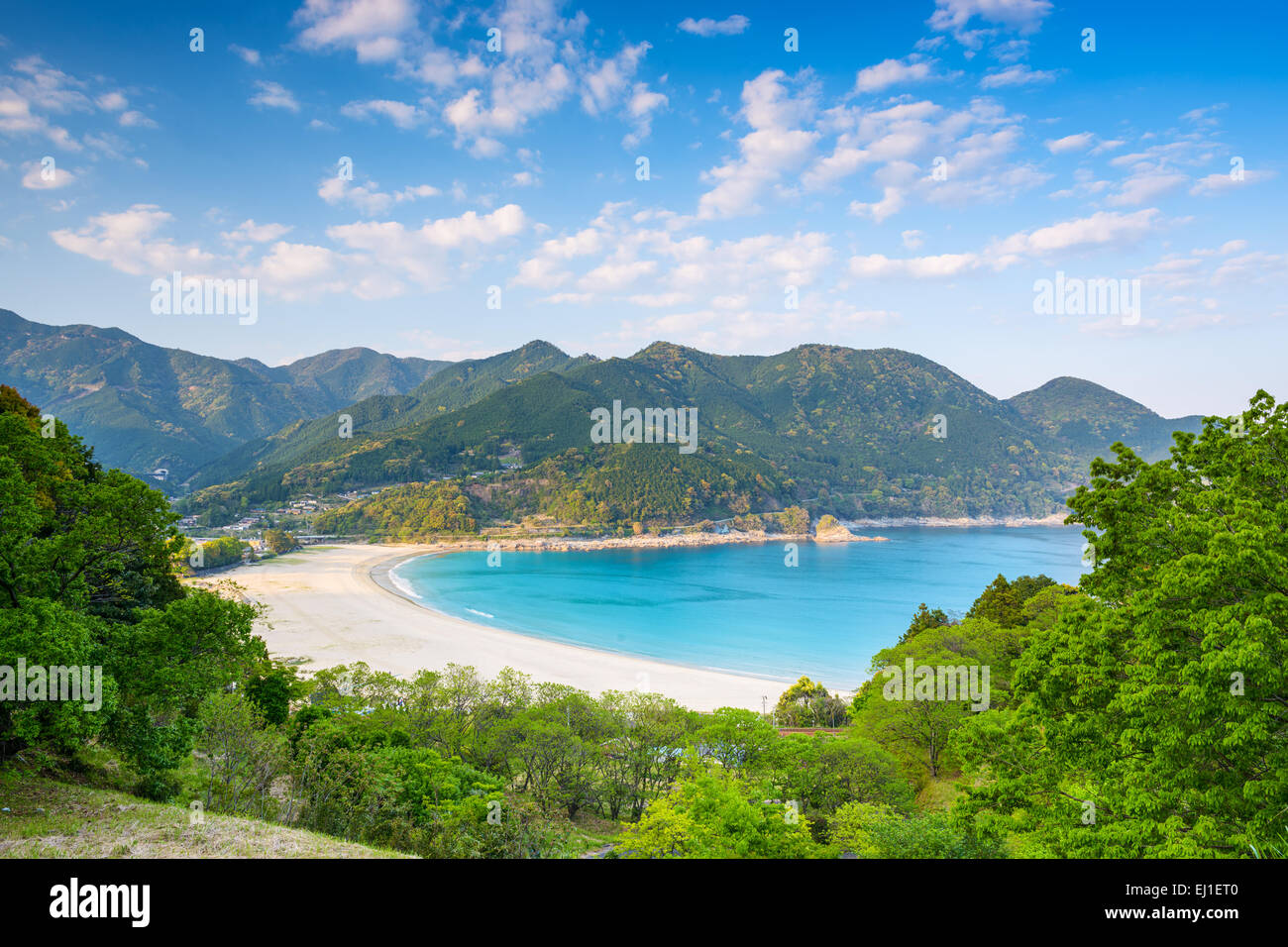 Atashika Beach in Kumano, Japan. - Stock Image