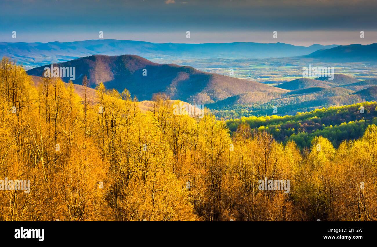 Shenandoah National Park Skyline Drive Stock Photos