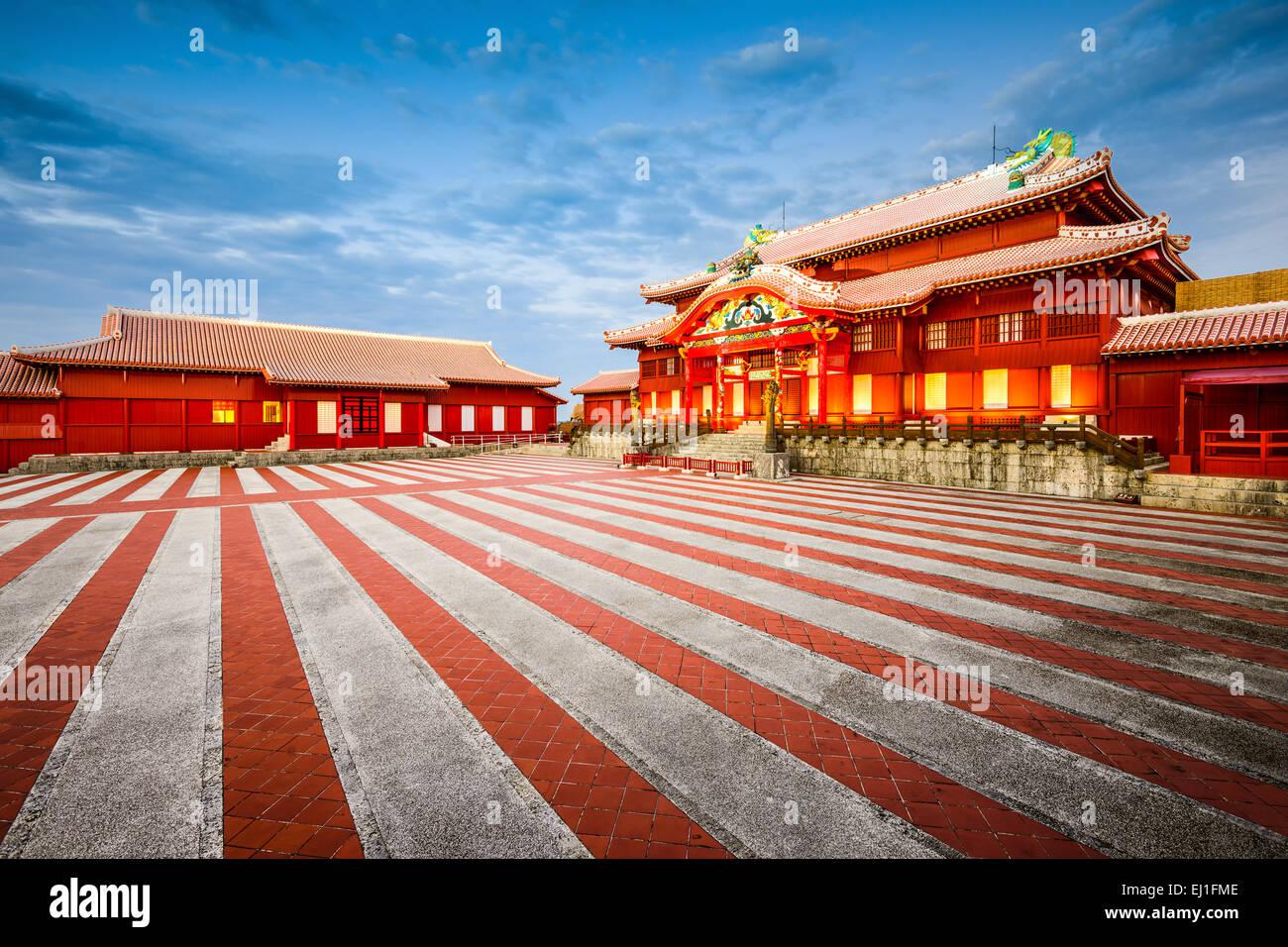 Okinawa, Japan at  historic Shuri Castle. - Stock Image