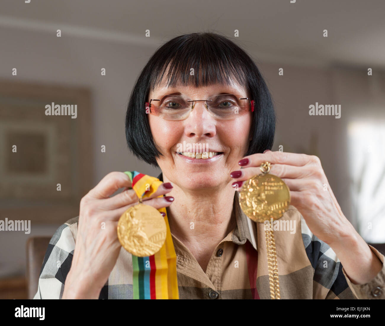 Barbel Wockel 4 Olympic medals nude photos 2019
