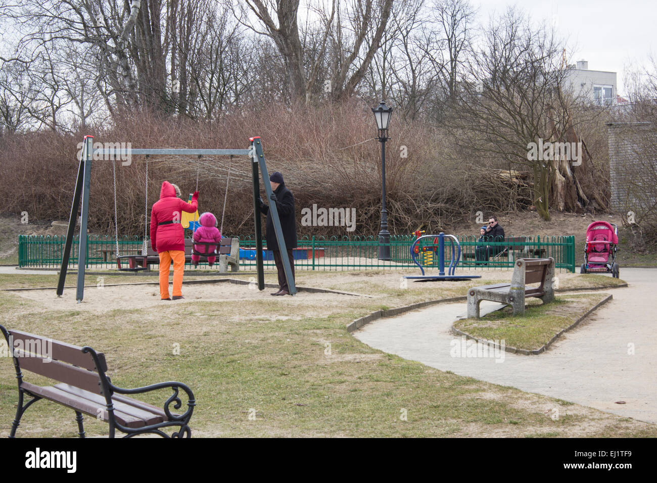 Playground - Stock Image