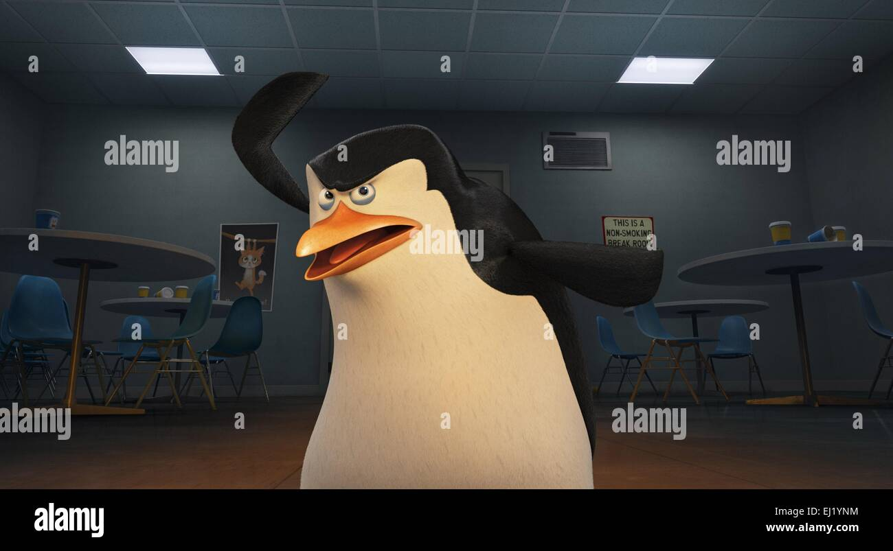 The Penguins of Madagascar Year : 2014 USA Director : Eric Darnell, Simon J. Smith Animation - Stock Image