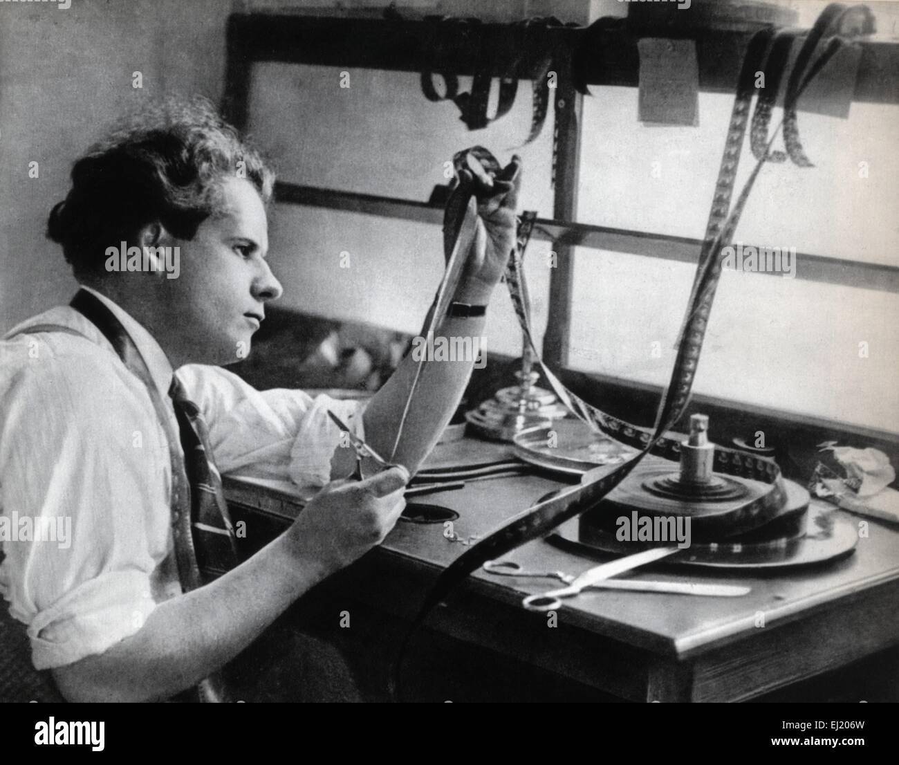 Sergei M. Eisenstein  Russian director - Stock Image