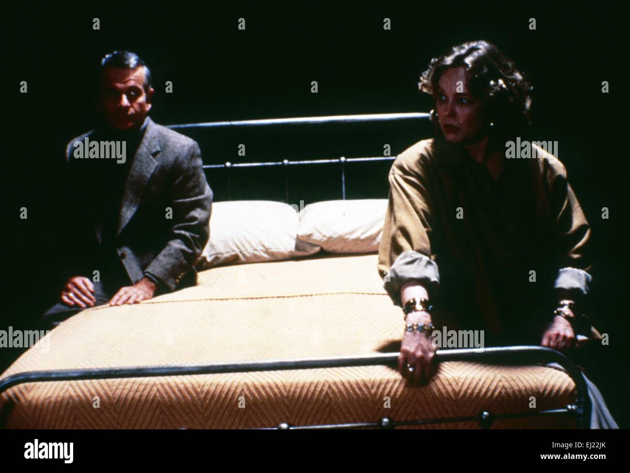 Another Woman  Year: 1988 USA Director: Woody Allen Ian Holm, Betty Buckley - Stock Image