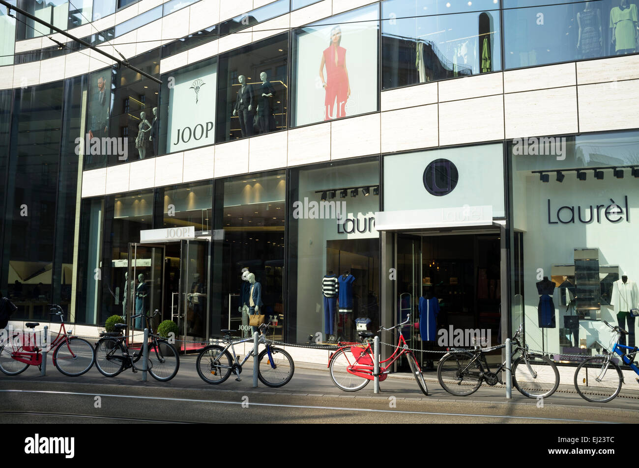 Joop & Laurel department stores, Dusseldorf, Germany. - Stock Image