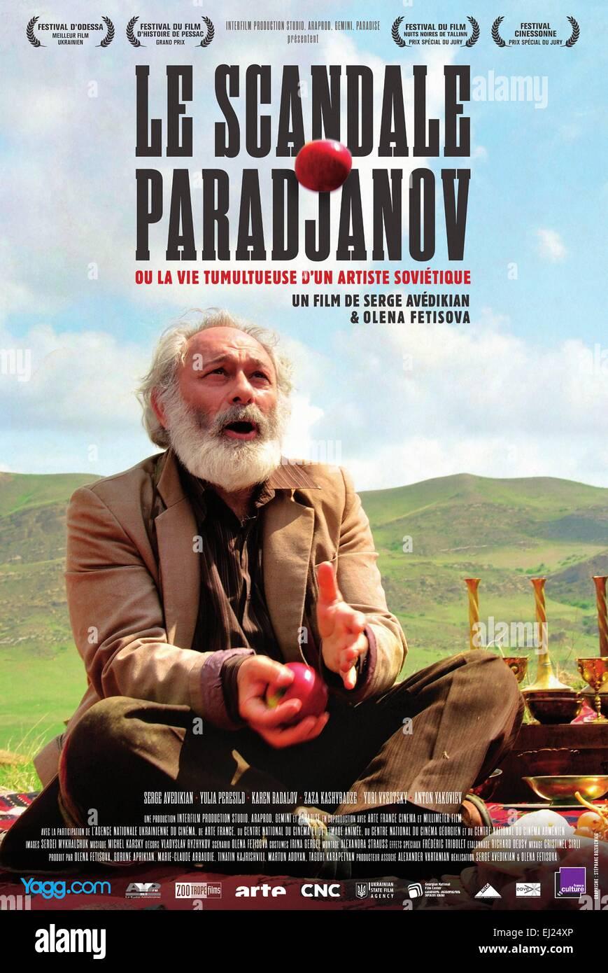 Le Scandale Paradjanov ou La vie tumultueuse d'un artiste sovietique Year : 2014 Ukraine / Georgia / France Director Stock Photo