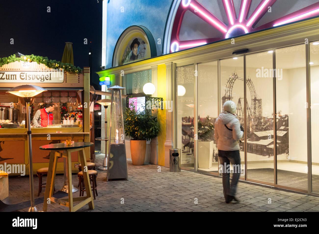 Wiener Riesenrad Vienna, Austria - Stock Image