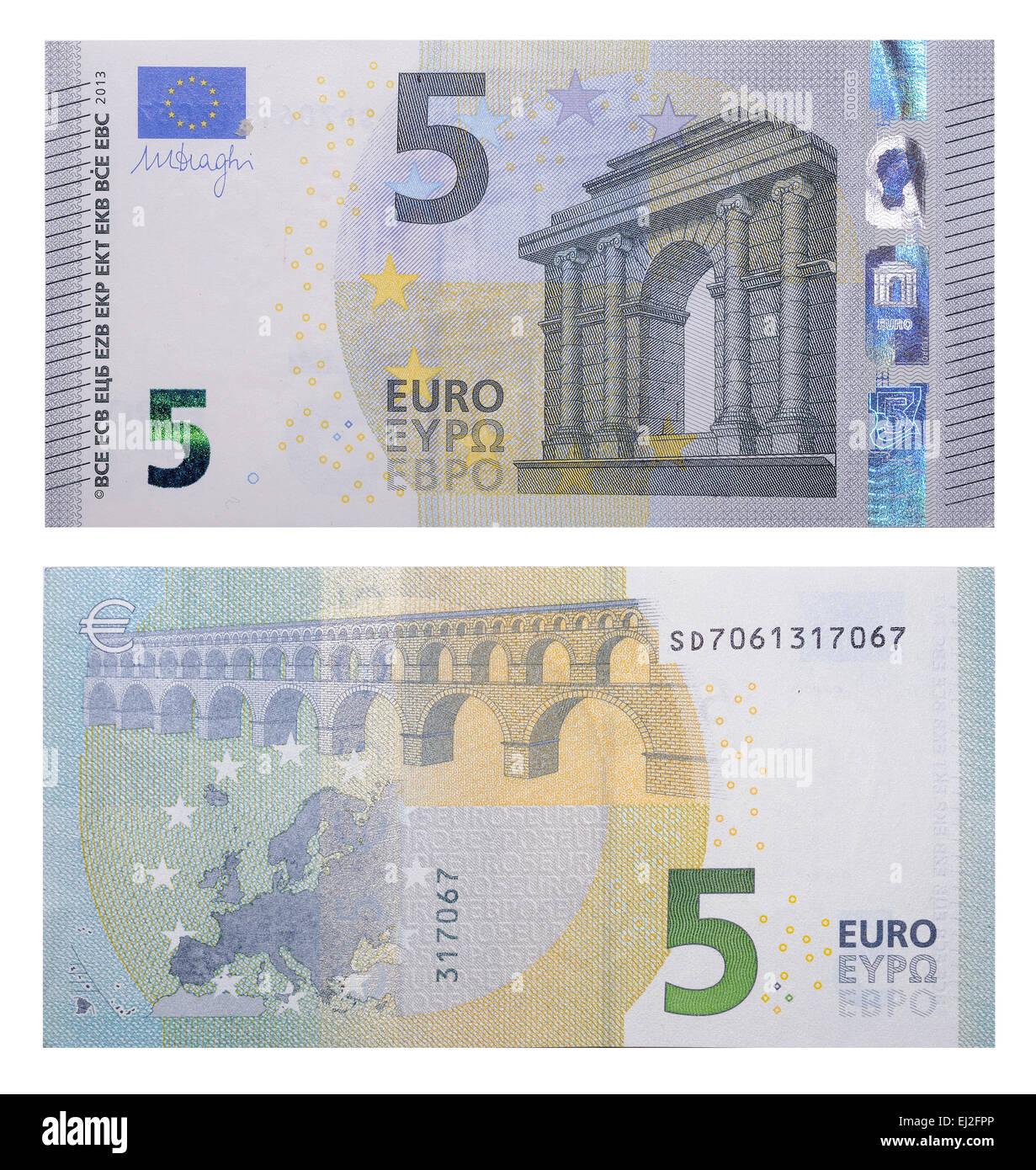 New Banknotes 5 Euro