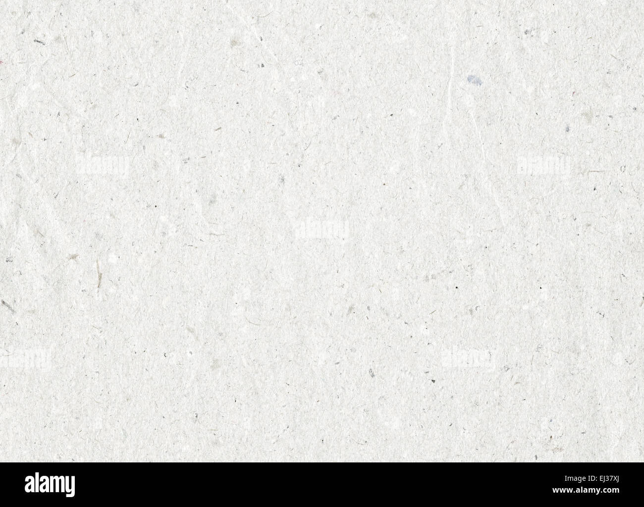 Grey recycled paper texture with copy space - Stock Image