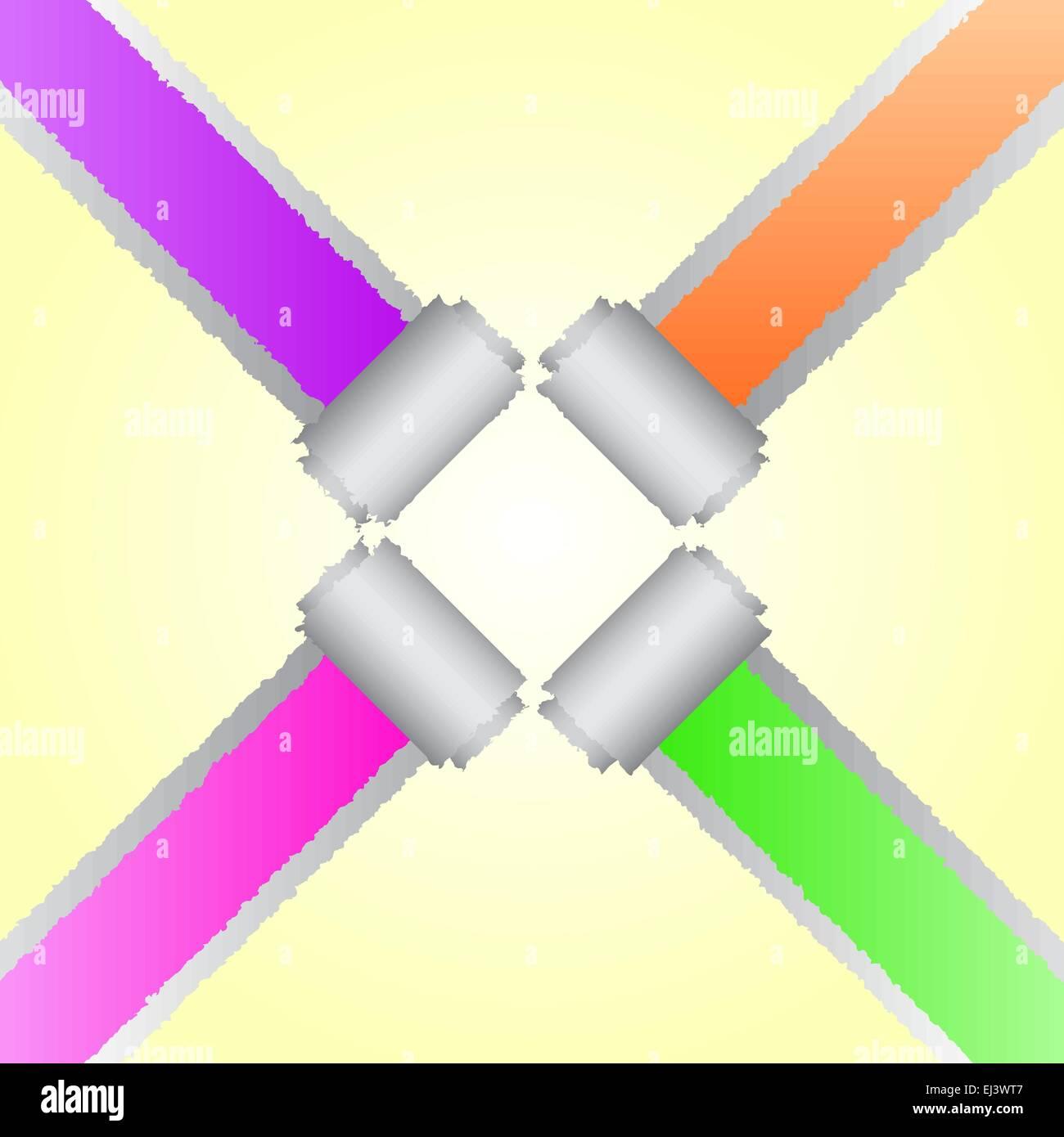 Colour Paper Art Design
