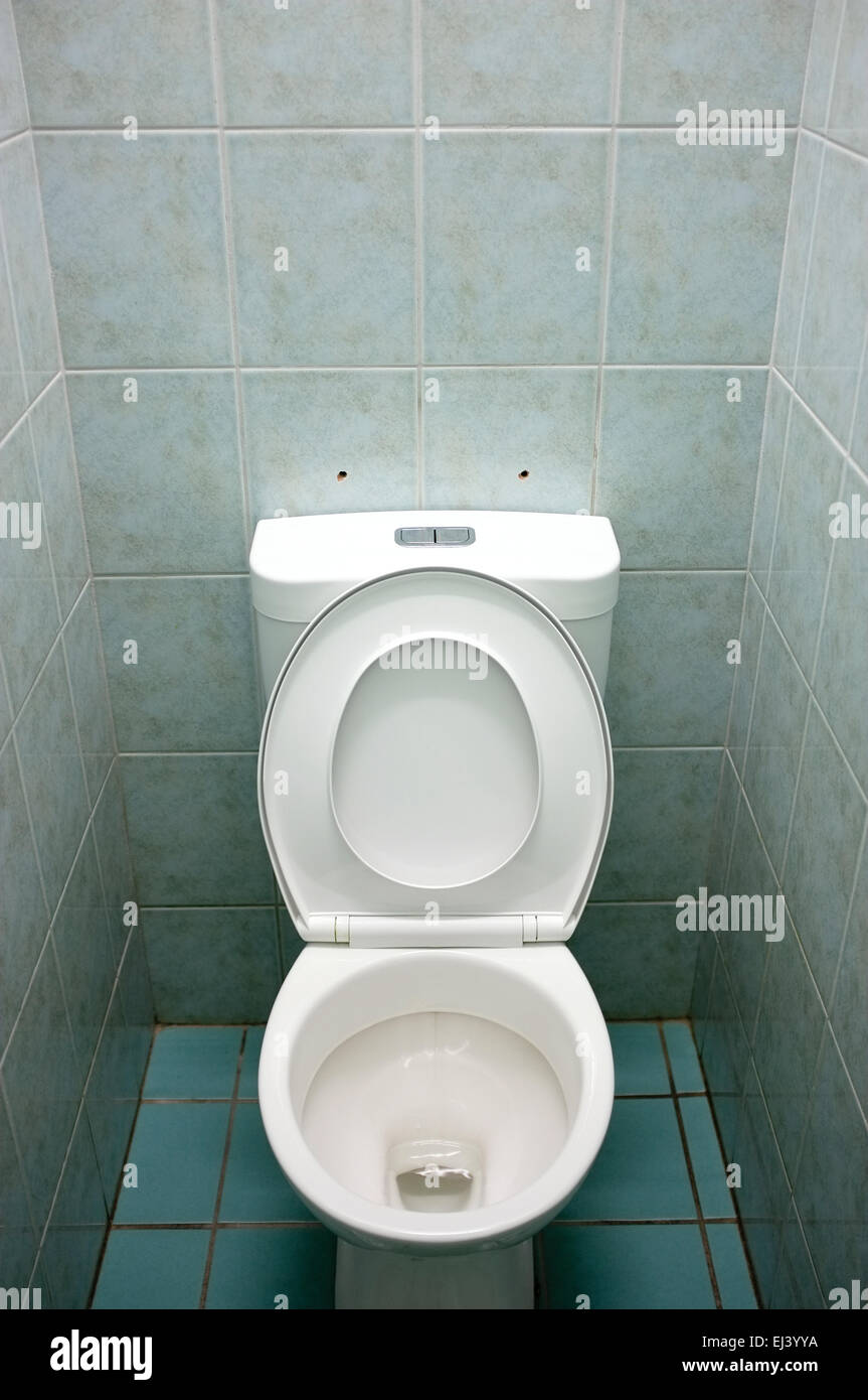 Toilet Seat Up Stock Photos & Toilet Seat Up Stock Images - Alamy
