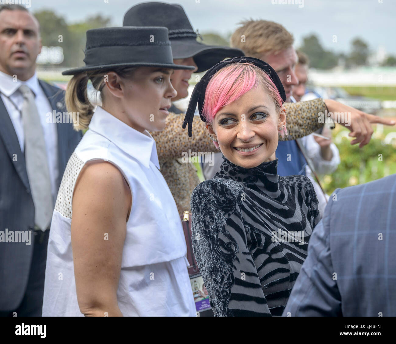 Sydney, AUSTRALIA - March 21, 2015: American designer and TV star Nicole Richie jetted into Sydney as the ambassador - Stock Image