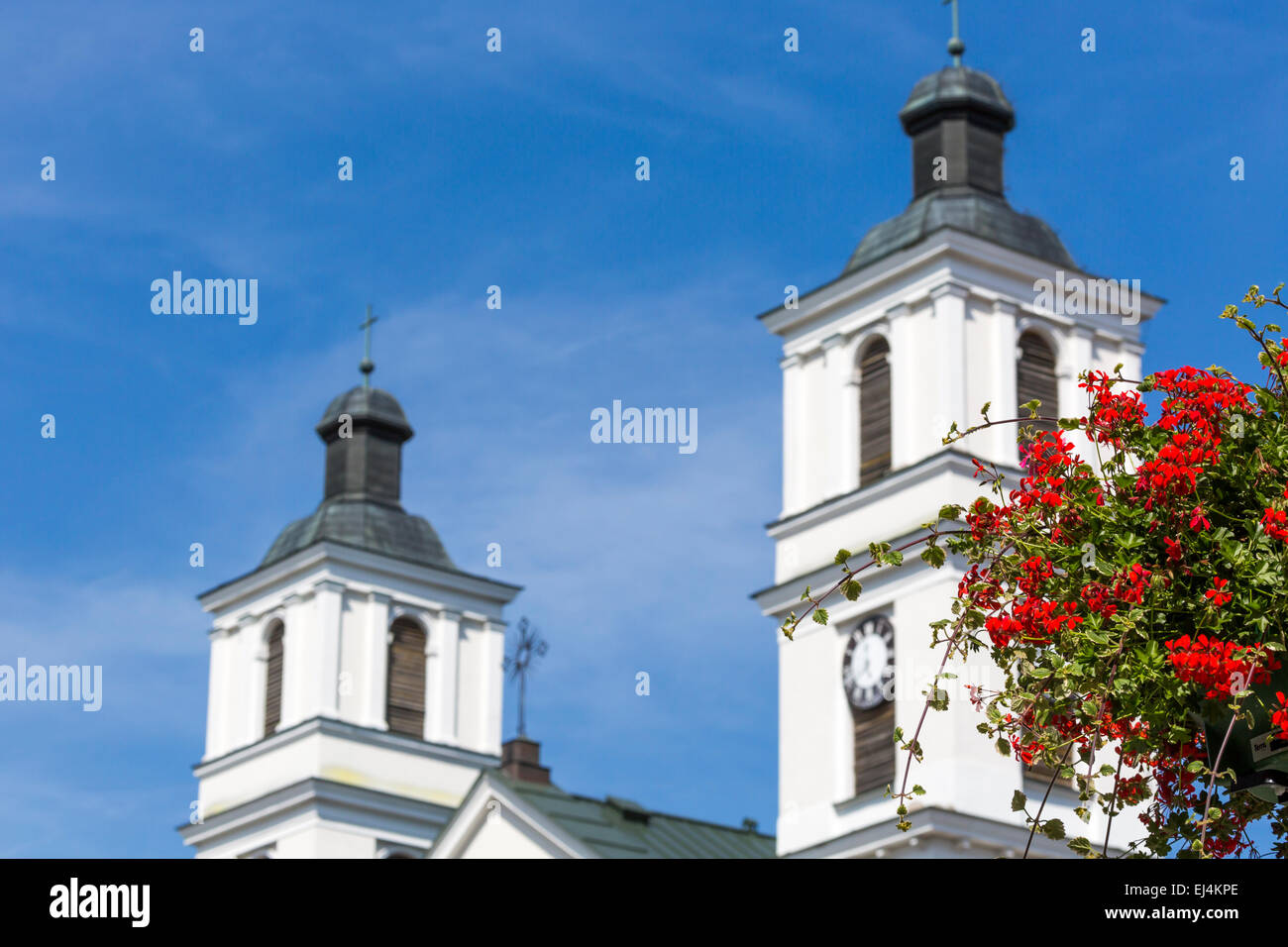 Church of St. Alexander in Suwalki. Poland Stock Photo