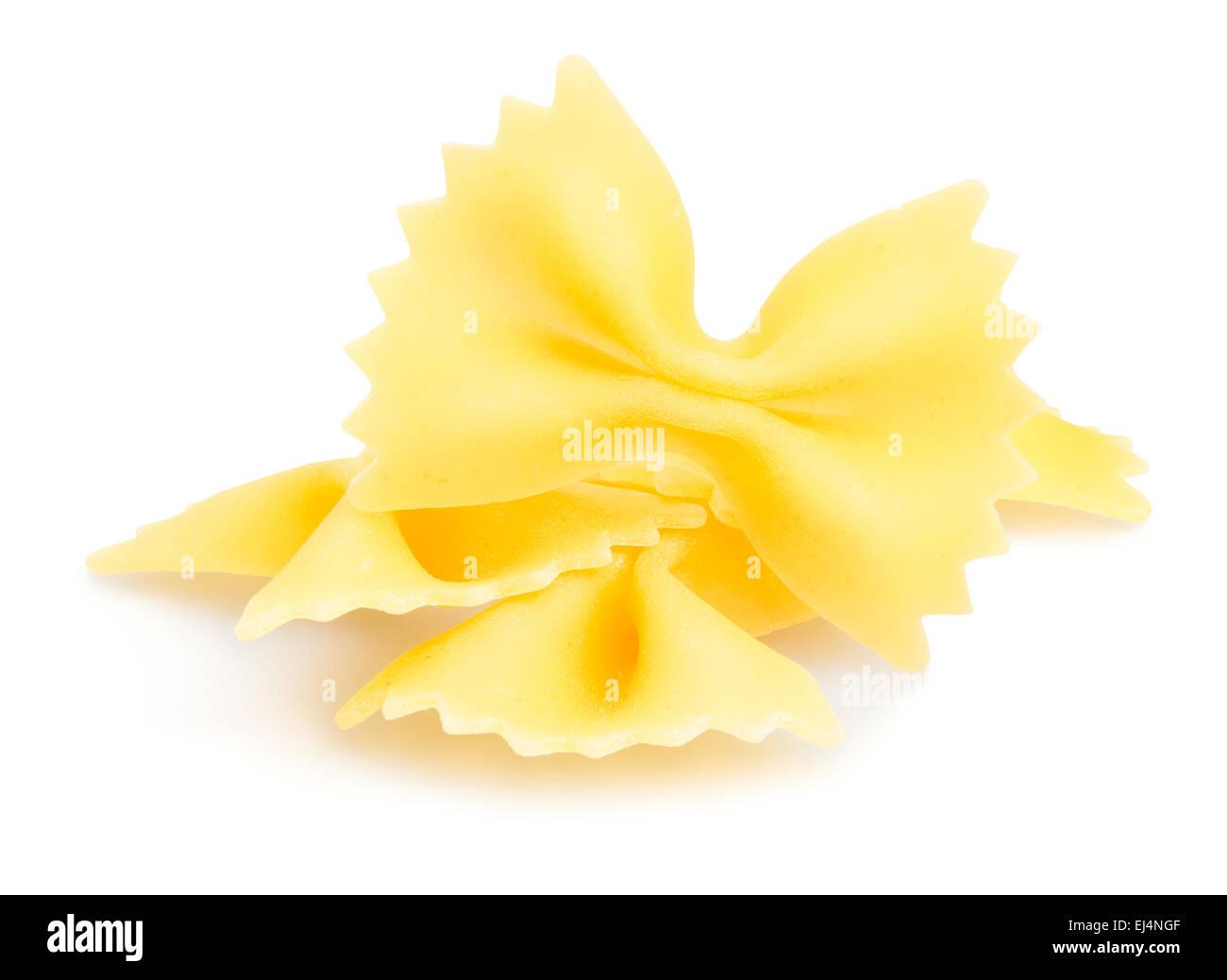 pasta isolated - Stock Image