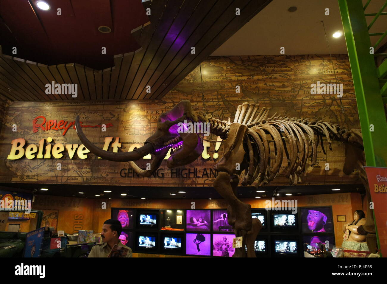 Ripley's  Believe it or not in Genting Highlands, Malaysia - Stock Image
