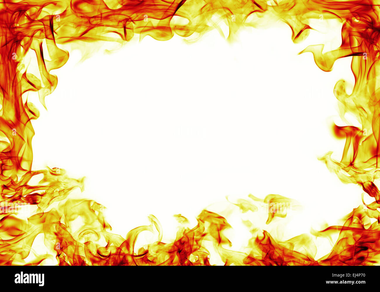 fire on white background fire flames frame on white background stock photo 6300