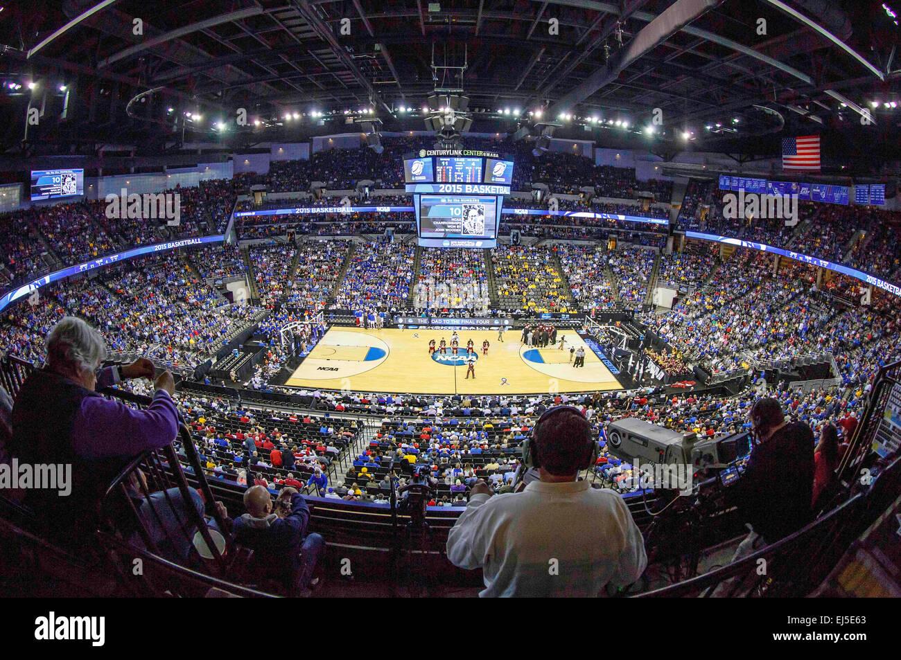 Centurylink Center Omaha >> Omaha Ne Usa 20th Mar 2015 Centurylink Center Arena During The