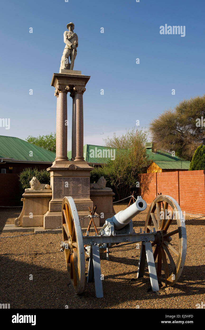 Cape Police Memorial commemmorating losses of the unit during the Anglo-Boer War, Kimberley, South Africa - Stock Image