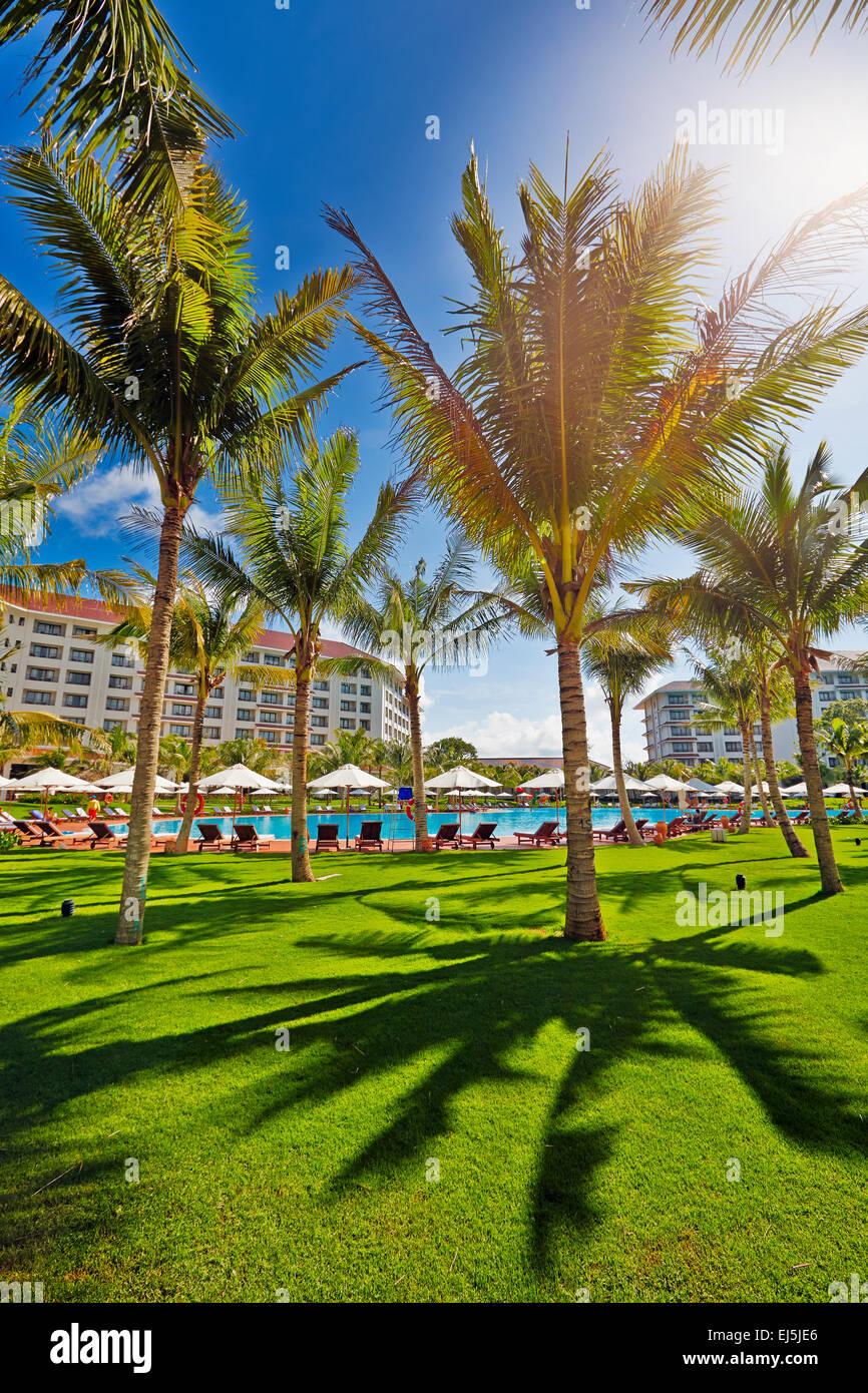 Vinpearl Resort, Phu Quoc island, Vietnam. - Stock Image