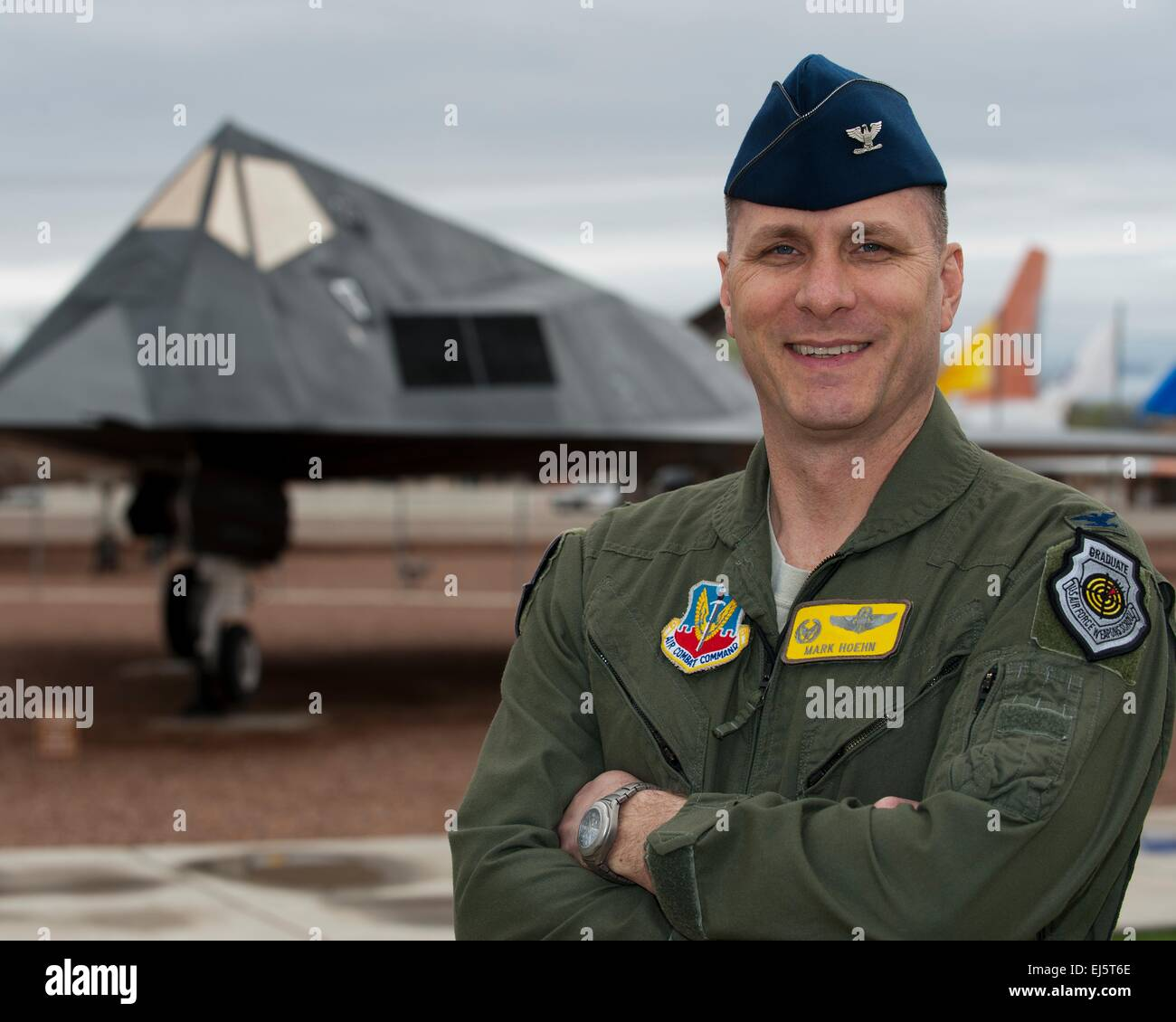 A US Air Force Col. Mark Hoehn, 49th Operations Group