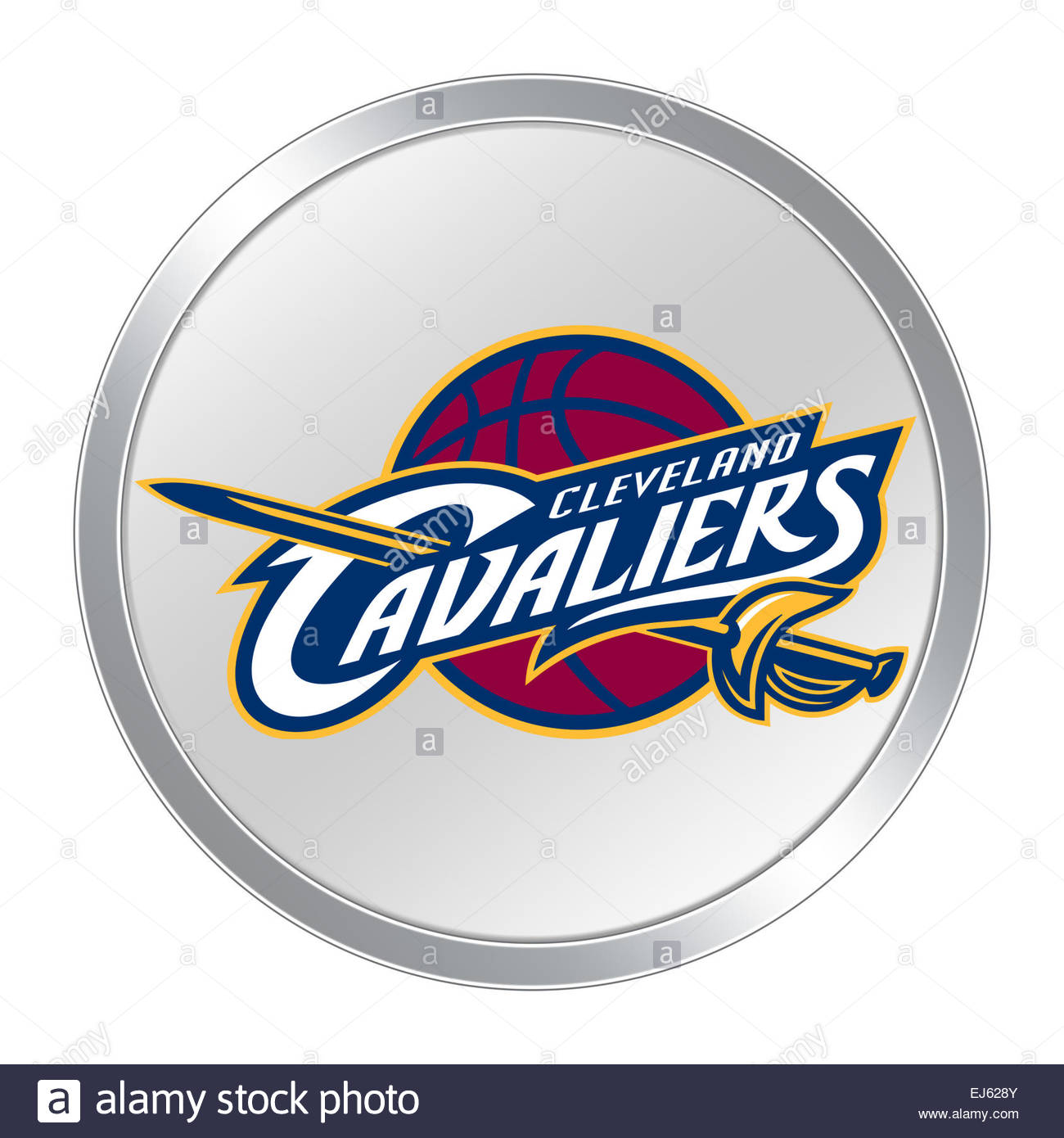 Cleveland Cavaliers Logo Icon Button