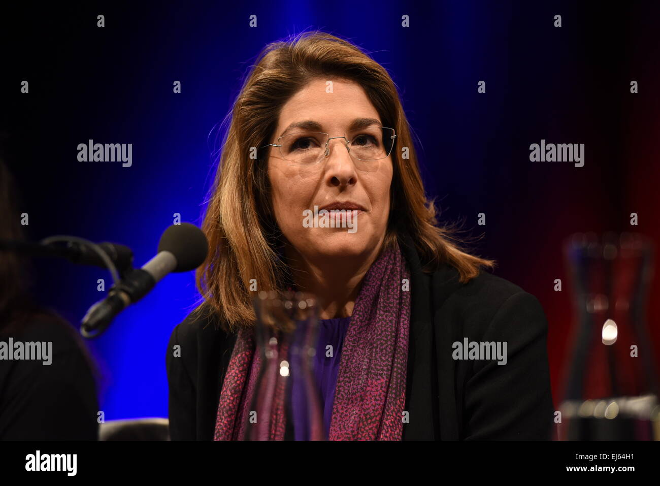 Canadian Author And Activist Naomi Klein Reads At The International Literature Festival LitCologne In Cologne Germany 20 March 2015