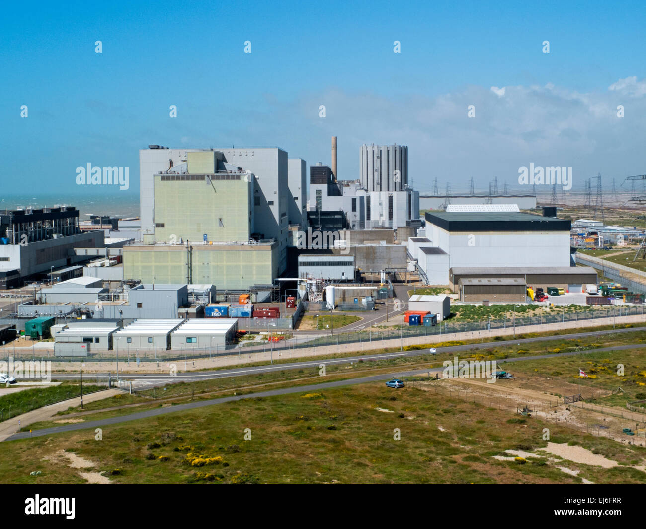 Dungess Nuclear Power station in Kent, England, UK - Stock Image