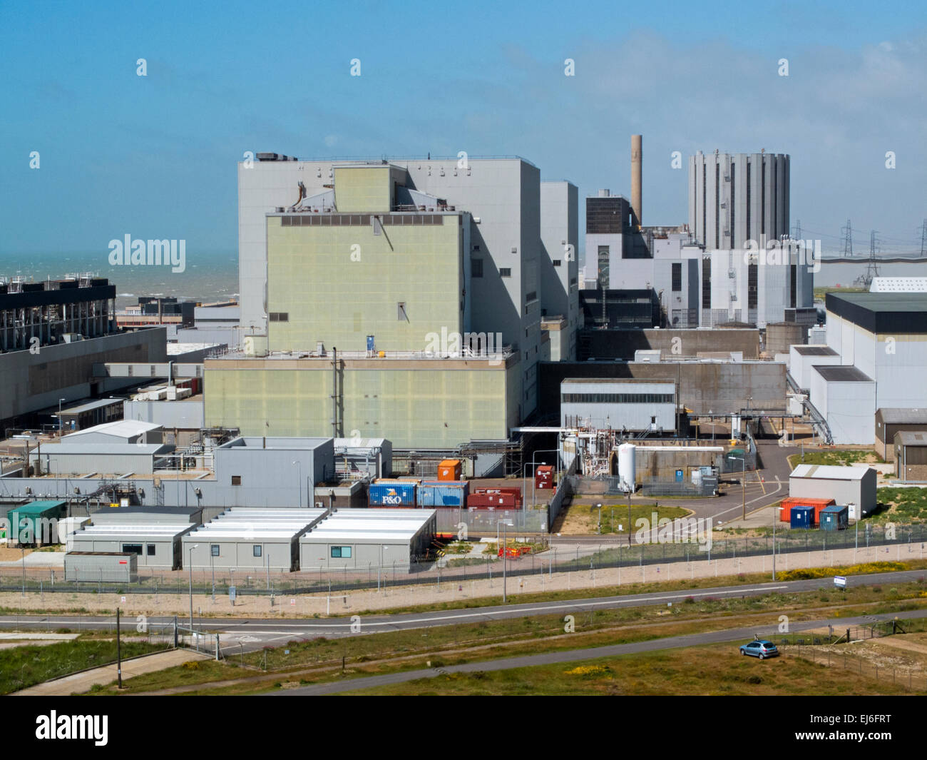 Dungess Nuclear Power station in Kent, England, UK Stock Photo