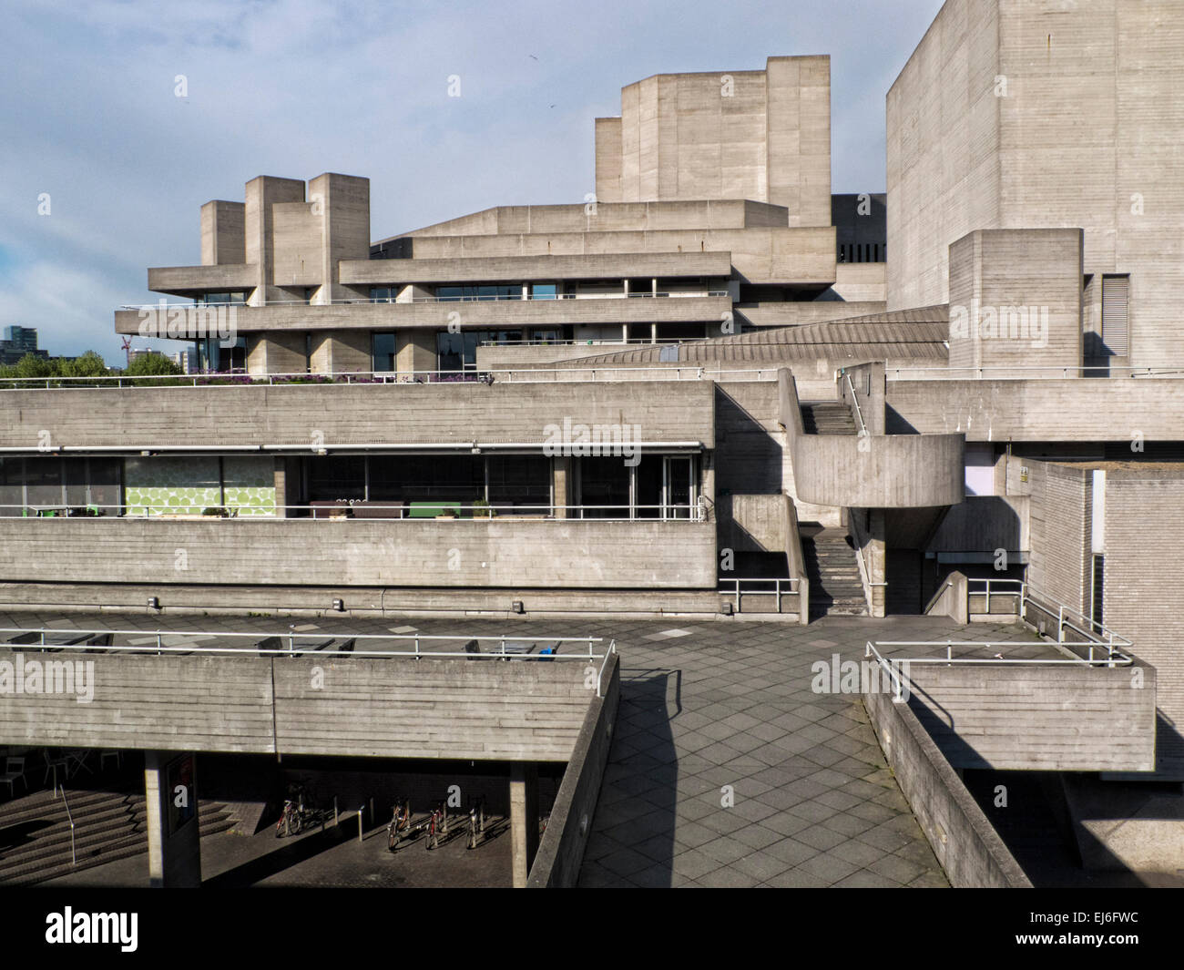 National Theatre, London - Stock Image
