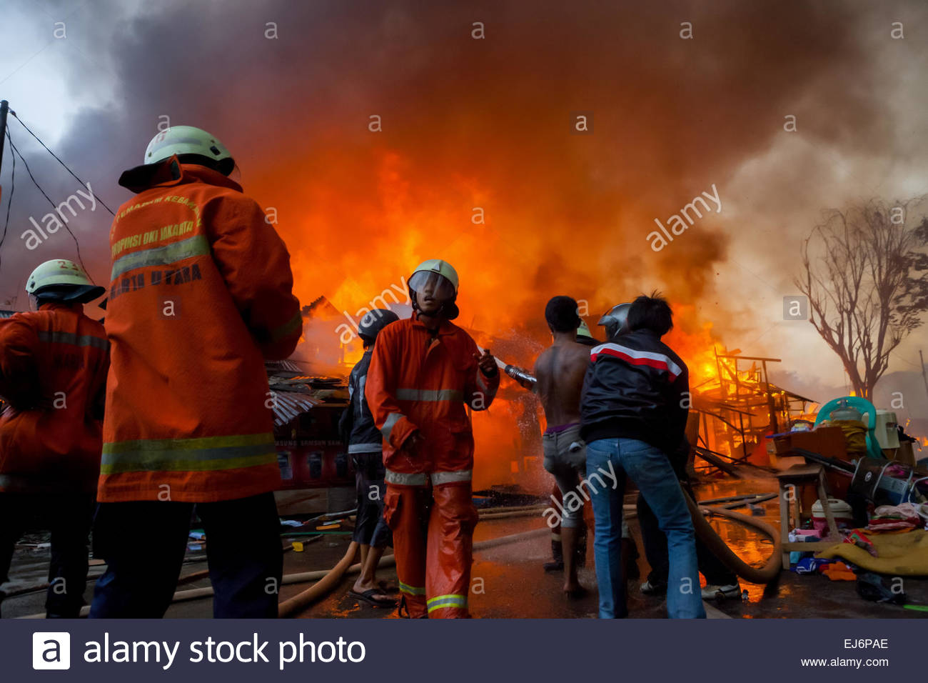 about fire accident
