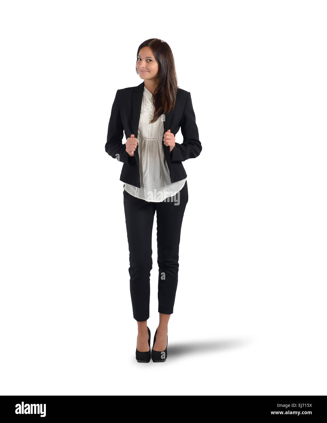 Positive businesswoman - Stock Image