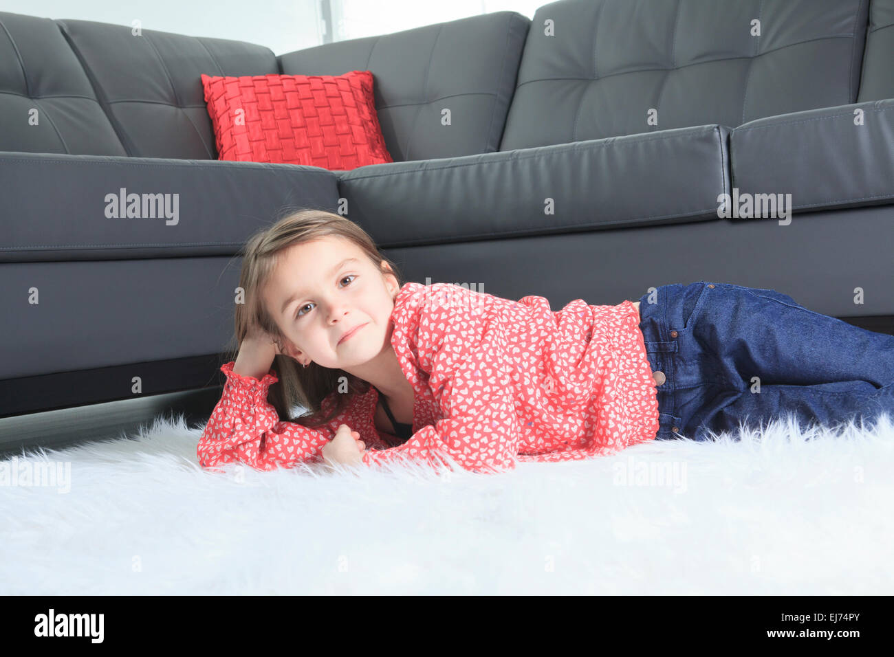 8 years old child laying down at home alone stock photo 80062723 rh alamy com down home at the farm home depot downspout