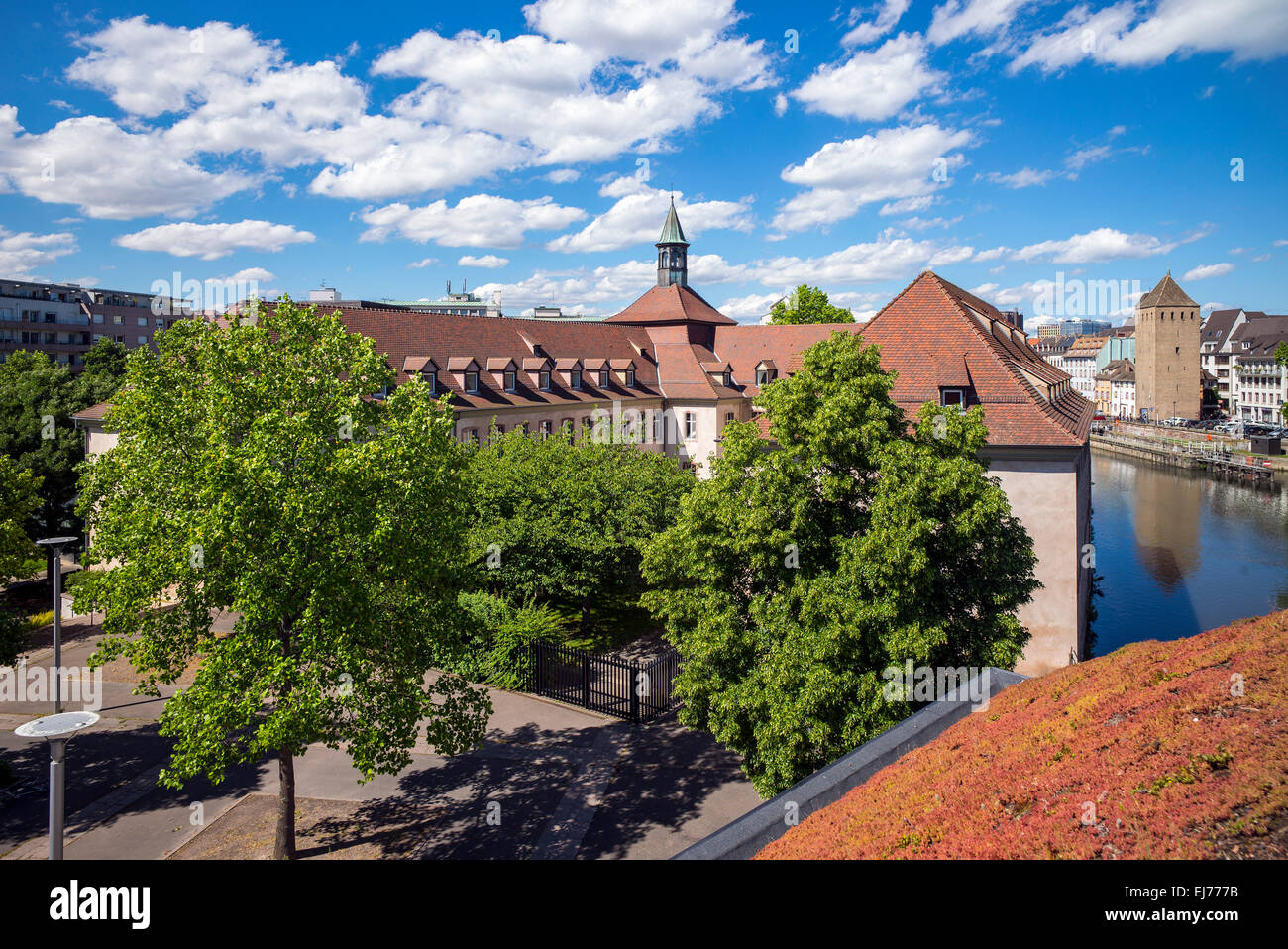 ENA French National School of Administration Strasbourg Alsace France - Stock Image