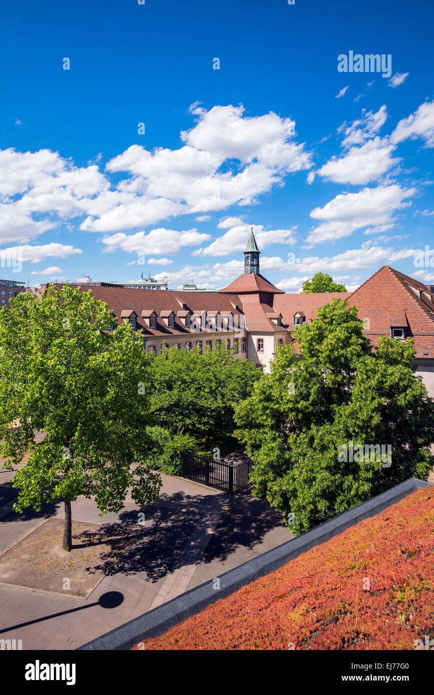 ENA French National School of Administration Strasbourg Alsace France Europe - Stock Image