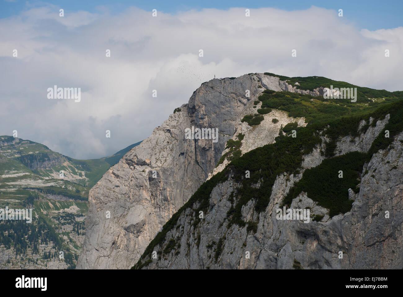 Trisselwand, Altaussee, Salzkammergut, Styria, Austria - Stock Image