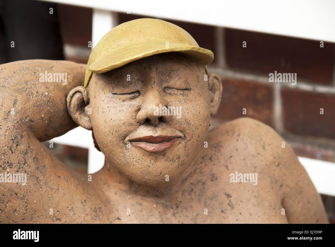 Sunbather - Stock Image