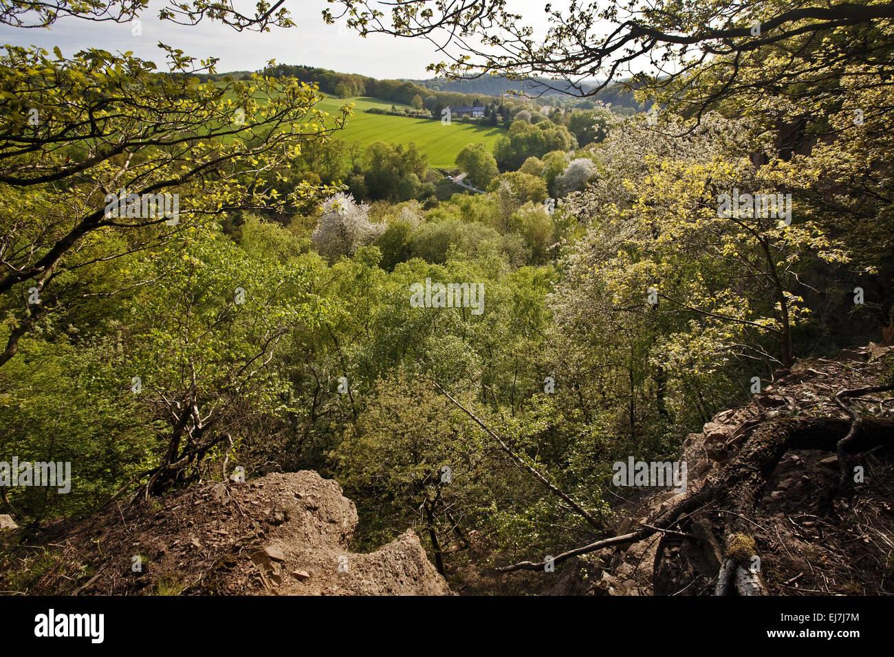 Mutten Valley, Witten, Germany - Stock Image