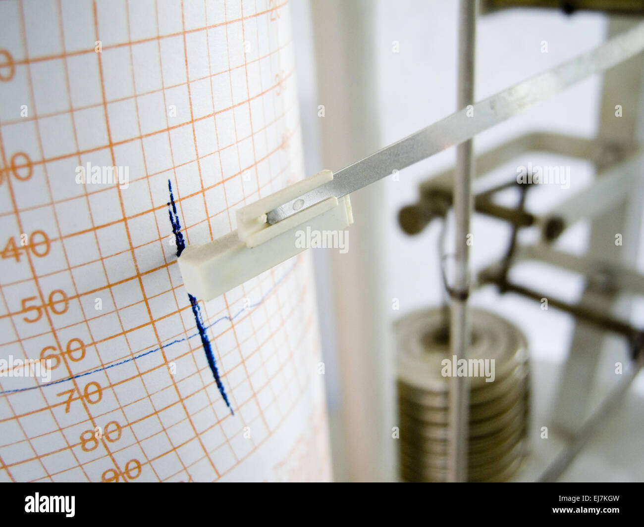 humidity measurement - Stock Image