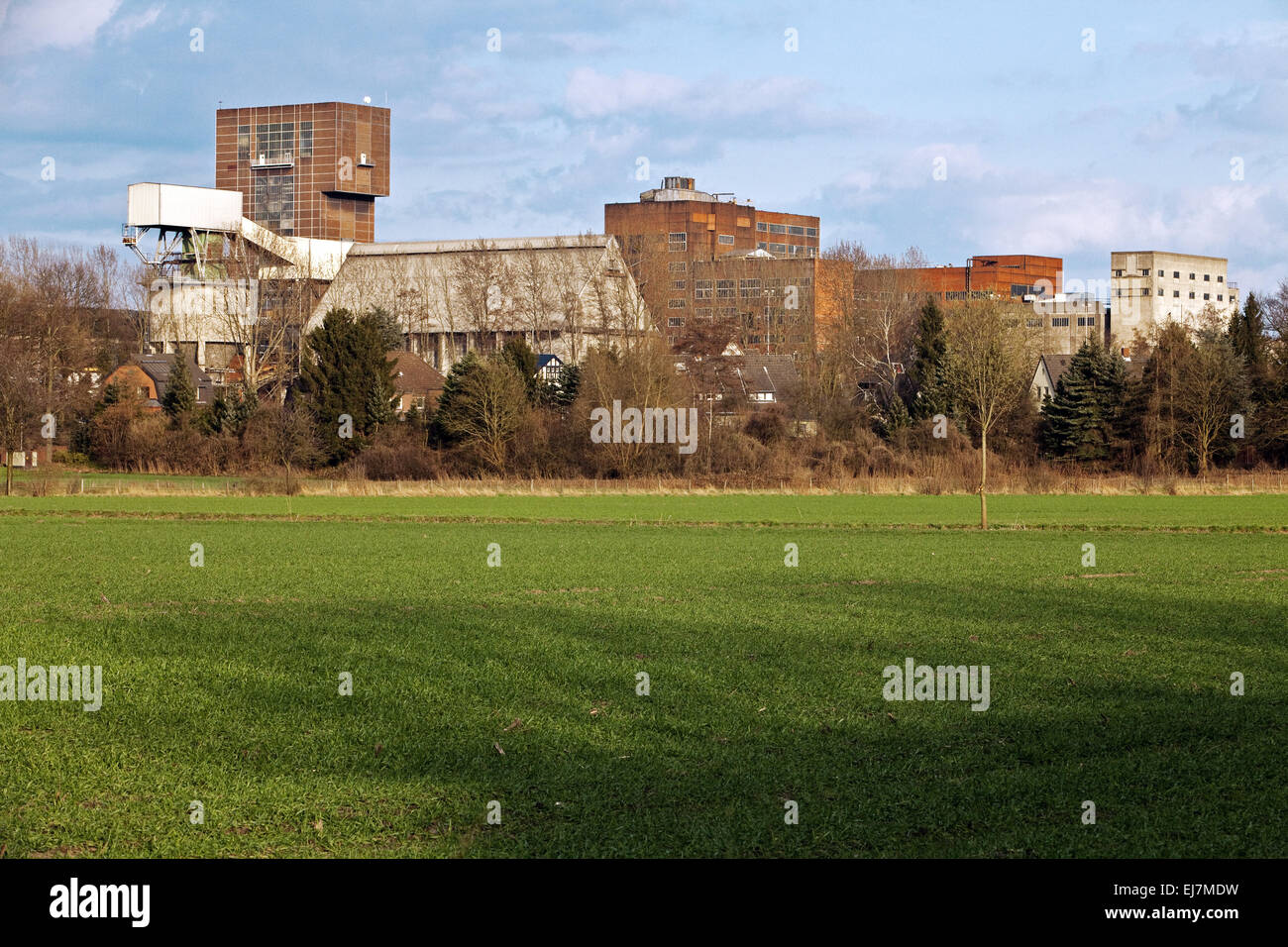 Ost colliery, Hamm, Germany - Stock Image