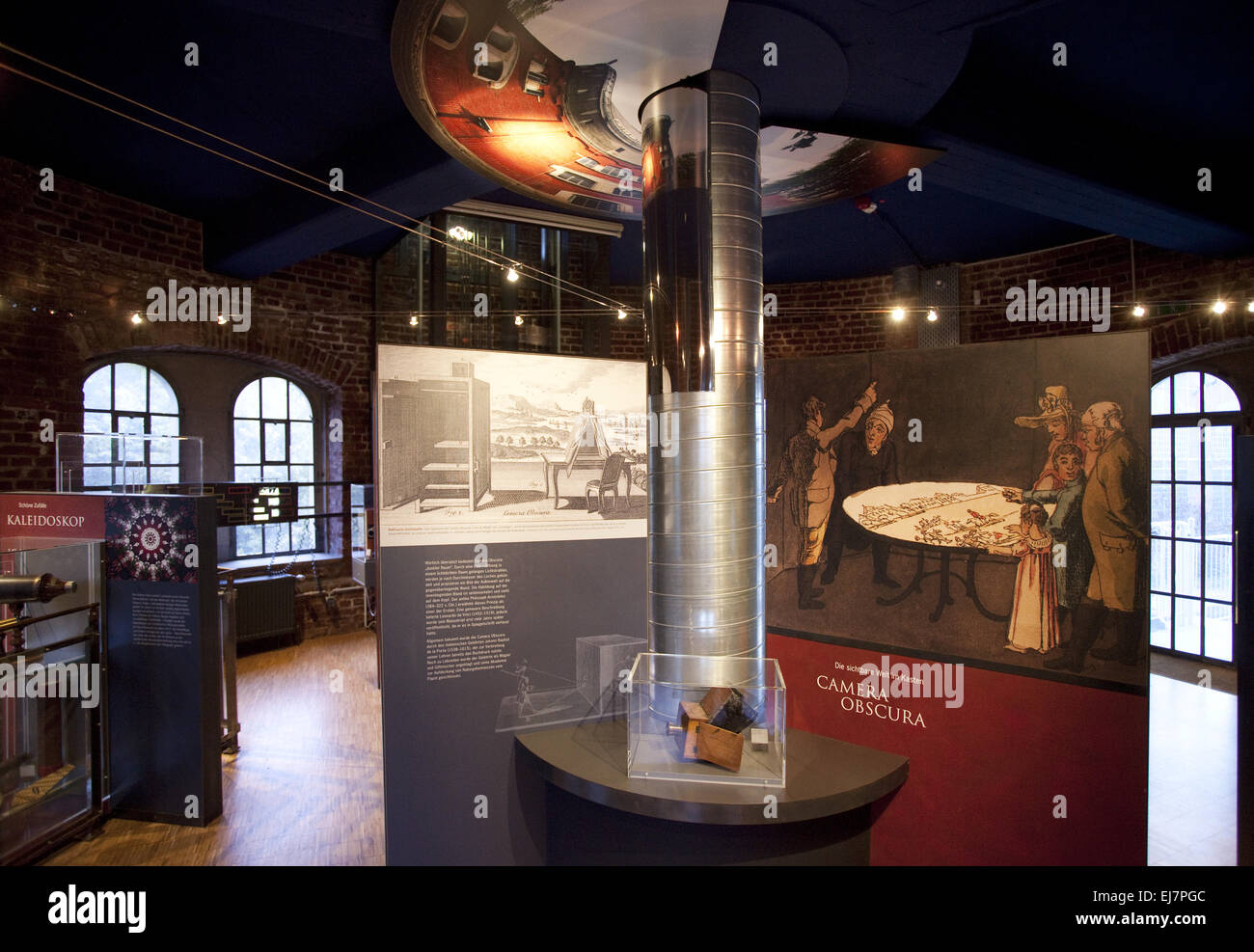 Museum Camera Obsura, Muelheim, Germany - Stock Image