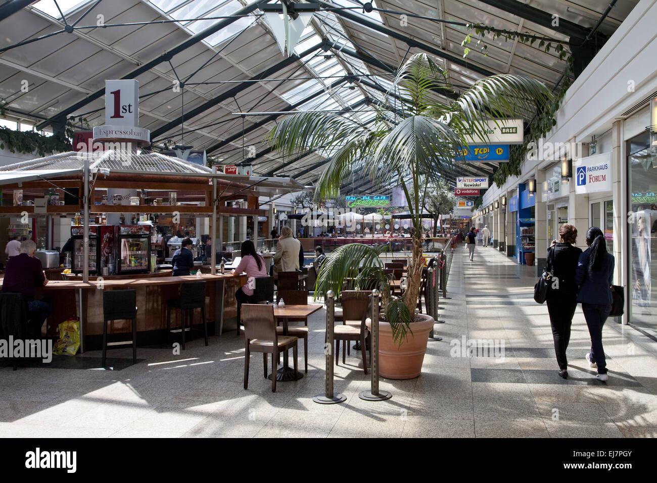 Forum Shopping Centre, Muelheim, Germany - Stock Image