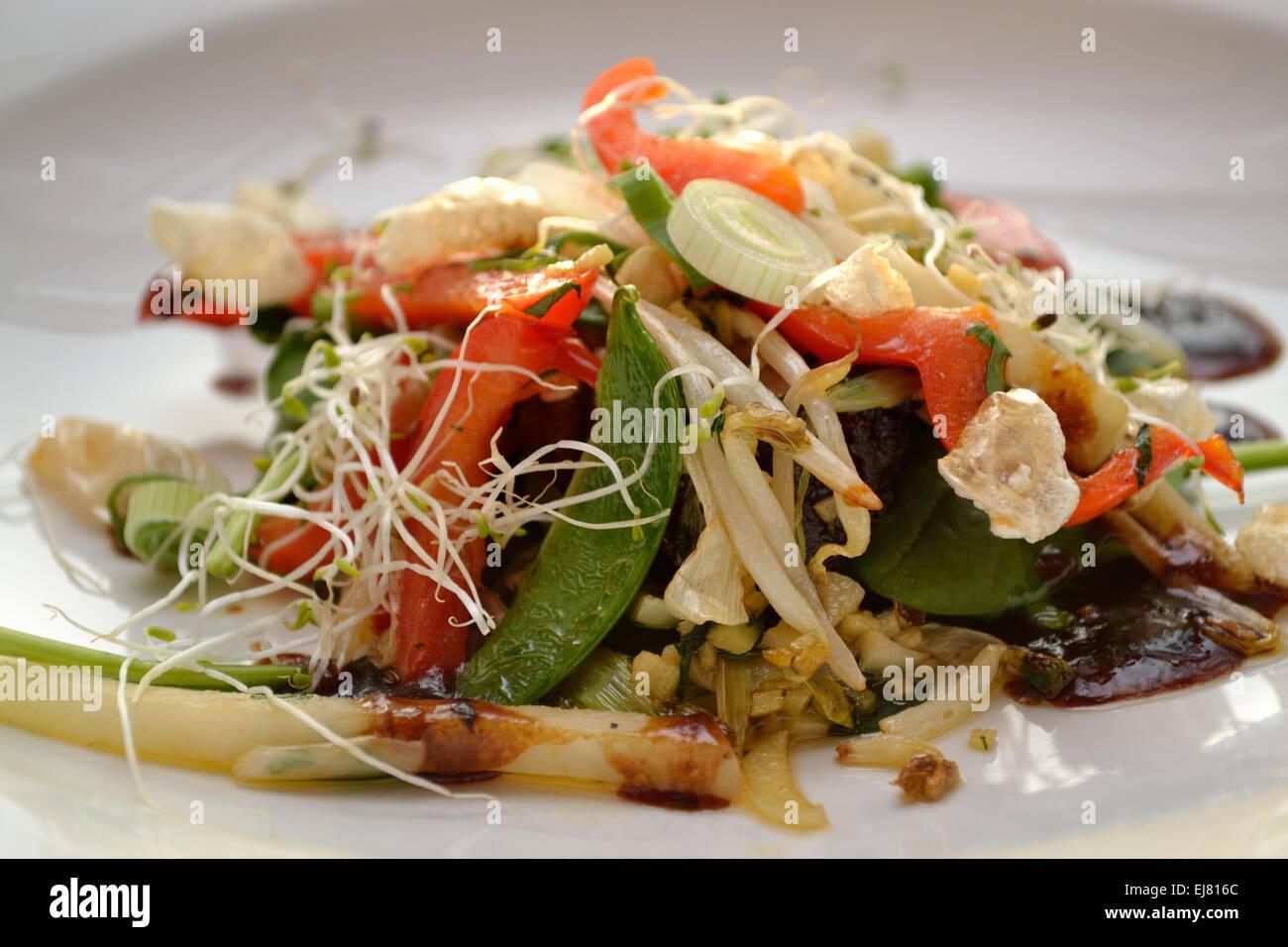 Asian cuisine - Thai - Stock Image