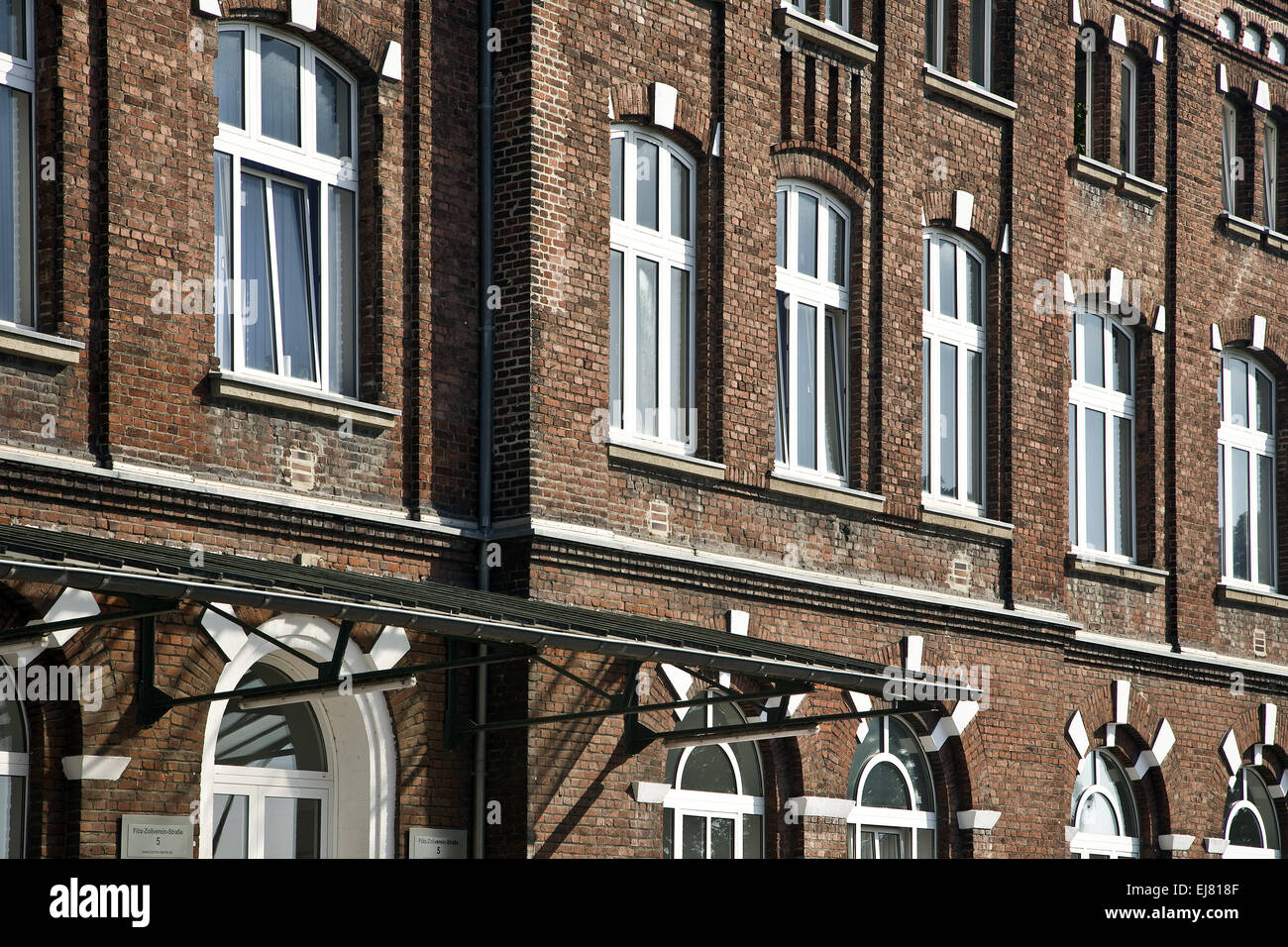 Detail Werne colliery, Werne, Germany - Stock Image