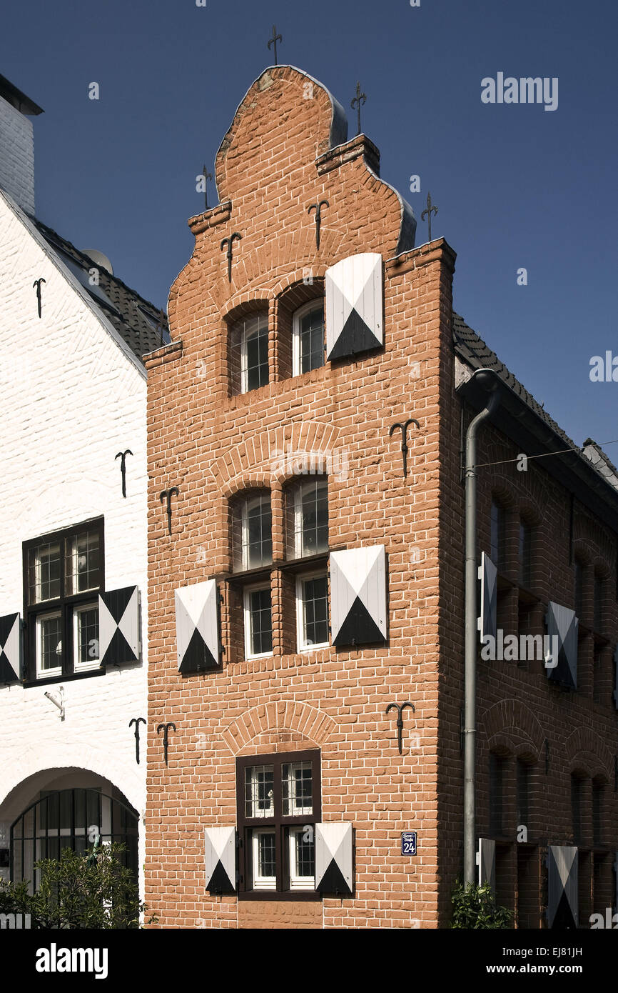 Detail House, Moers, Germany - Stock Image