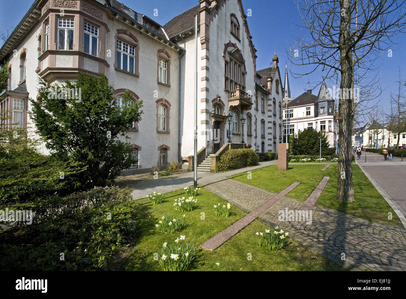 Community College, Moers, Germany - Stock Image