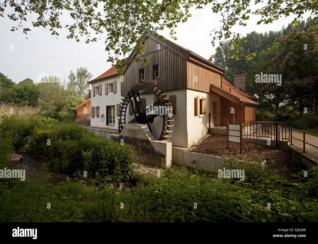 Au mill, Moers, Germany - Stock Image