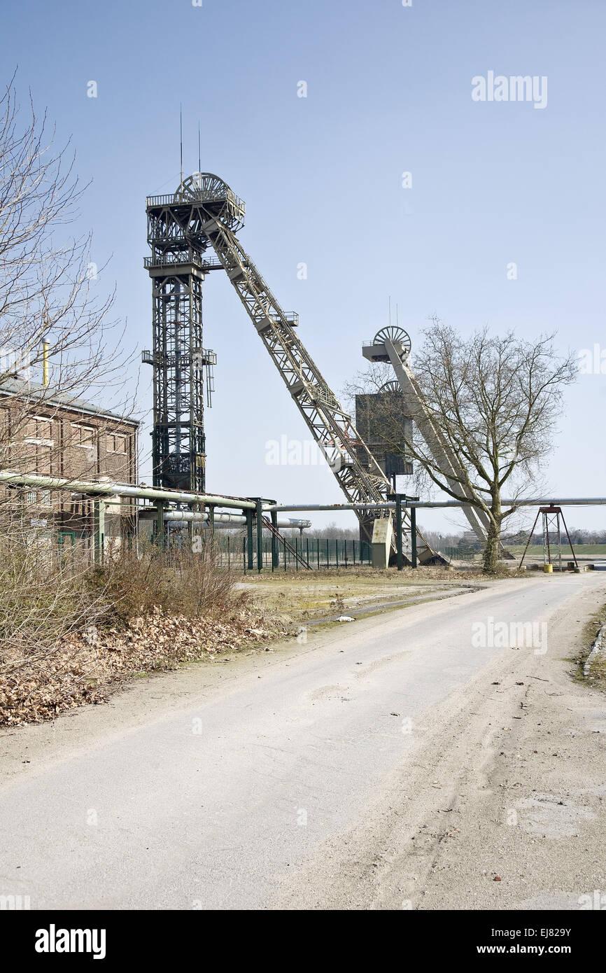 Niederberg Colliery, Neukirchen Vlyn, Germany - Stock Image