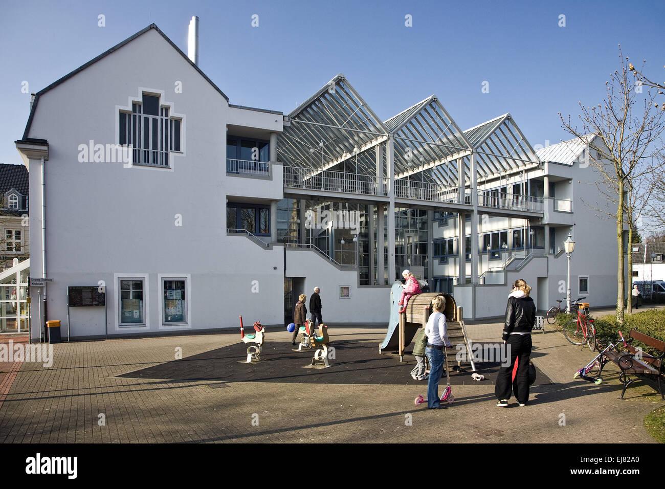 Townhouse, Rheinberg, Germany - Stock Image