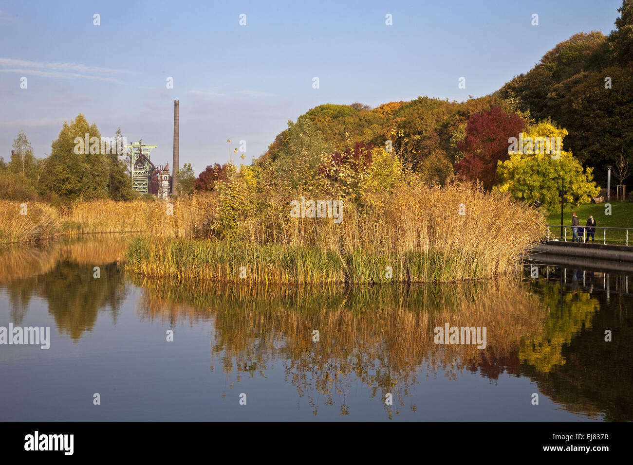 Henrichshuette Hattingen Steelworks, Germany. Stock Photo